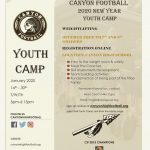 Canyon Football Weightlifting Youth Camp