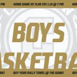 Varsity Boys Basketball game this Friday vs. Yorba Linda