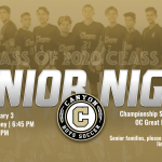 Boys Soccer Senior Night Tonight 2/3