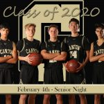 Boys Basketball Senior Night Tuesday, February 4th