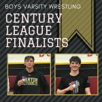Boys Wrestling Century League Finalists
