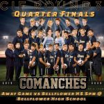 Boys Soccer advances to CIF-SS Quarterfinal -Game Today @ Bellflower HS