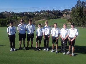 2020 Canyon High School Boys JV Golf vs Katella H.S.