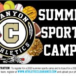 2020 Summer Sports Camps