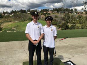 Boys Varsity Golf vs Orange Lutheran @ AHGC 3/11/20
