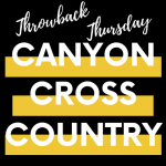 Throwback Thursday – Track  & Cross Country
