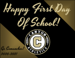 Have a Great First Day of School Comanches!
