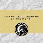October Committed Comanches of the Month Announced