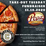 Boys Basketball Takeout Tuesday @ Pepz Pizza November 10