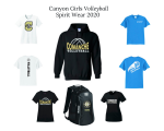 Canyon Girls Volleyball Spirit Wear Shop now through November 22