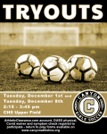 Girls Soccer Tryouts December 1st & December 8th