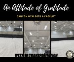 The Week of Giving Back – Canyon Gym Renovation