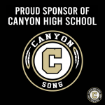 Week of Giving Back – Thank You to Canyon Song Sponsor