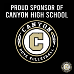 Week of Giving Back – Thank You Boys Volleyball Sponsor