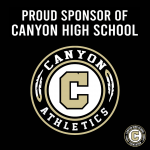 Week of Giving Back – Thank You Canyon Athletics Sponsors