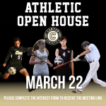 Canyon Athletics Open House – March 22