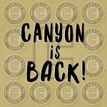 Canyon is back!