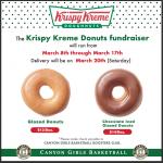 Girls Basketball Krispy Kreme fundraiser begins March 8th