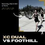 Cross Country Dual Meet – Saturday vs. Foothill