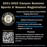 2021 Canyon Summer Camp Listings & Registration