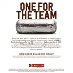 Boys Lacrosse Fundraiser at Chipotle Today, March 24th