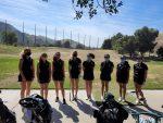 Girls Golf Varsity vs. Villa Park H.S. at GRGC on April 5 2021