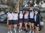 CHS Girls Varsity Golf vs. Villa Park H.S. at AHGC on April 6 2021