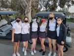Girls Varsity Golf beats Villa Park 214 – 217