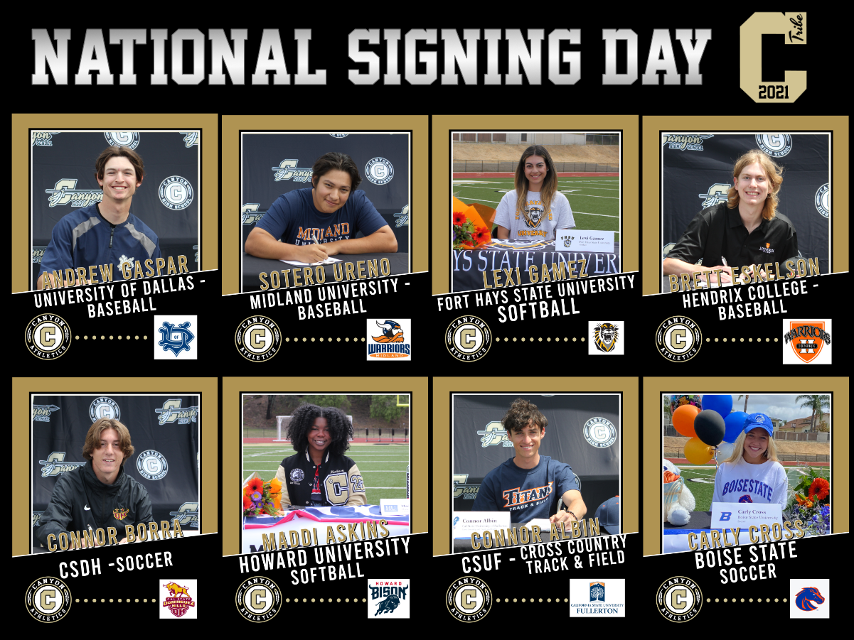 4.14.2021 National Letter of Intent Signing Day