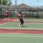 Tennis Team ends regular season at La Feria