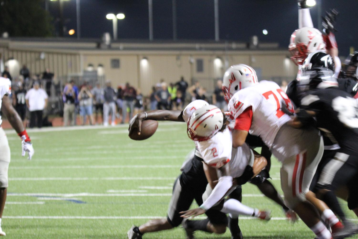 Judson Varsity Football beats Byron P Steele I I 51 – 48