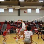 Girls Varsity Volleyball falls to East Central 3 – 0