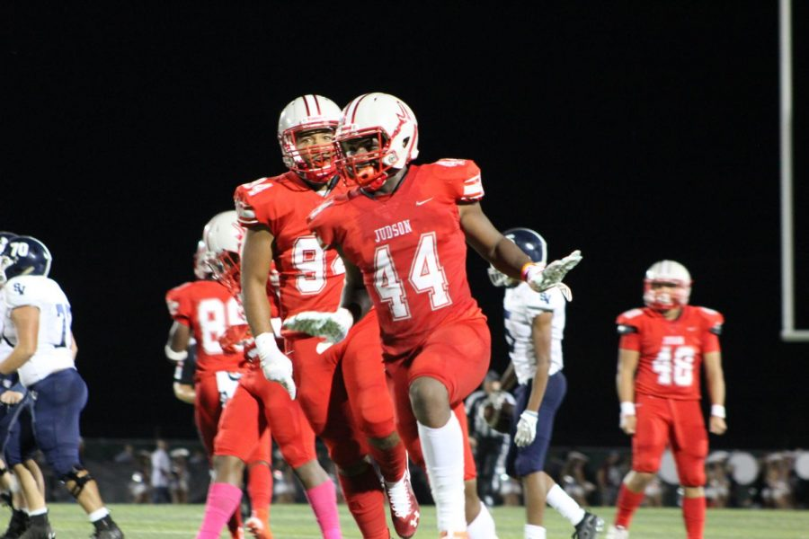 JHS Varsity Football beats Smithson Valley 30 – 13