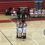 Girls Varsity Basketball falls to Portage Central 38 – 22