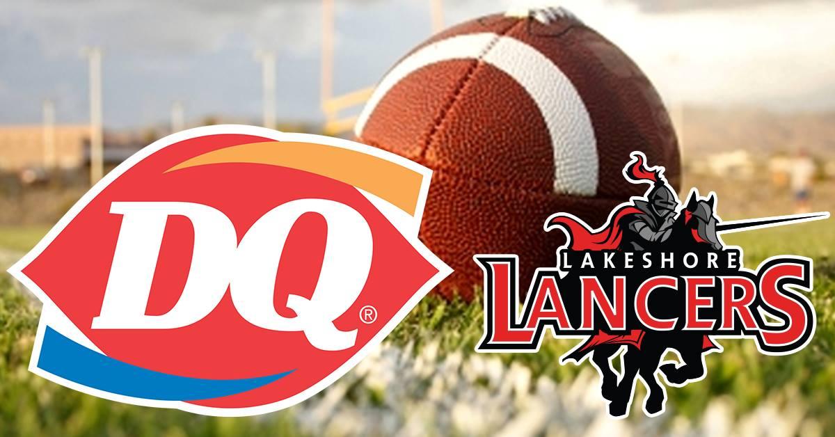 Dairy Queen Fundraiser for Lakeshore Athletics 9/11 thru 9/13/18