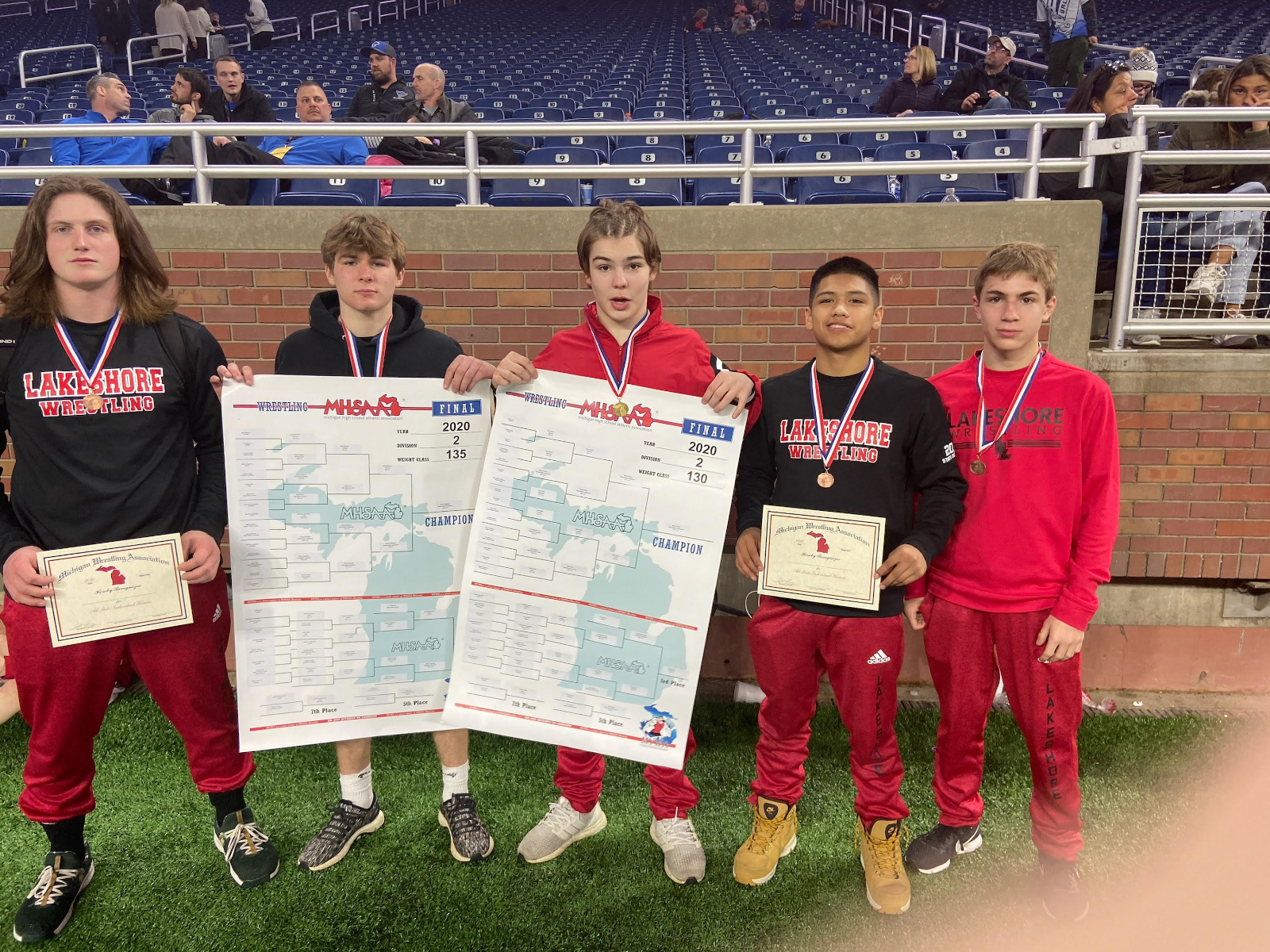 The Champs. Are. Here.: Recapping a special wrestling season