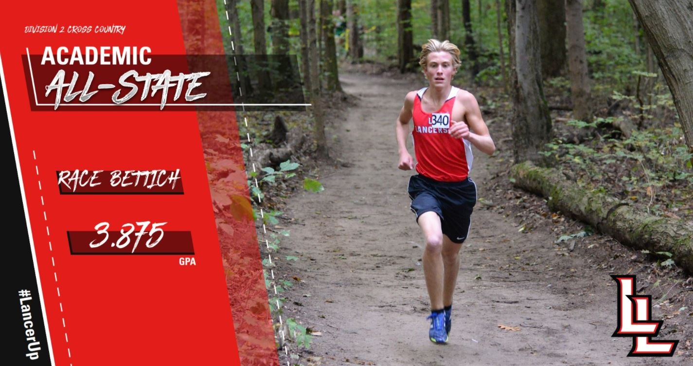 Bettich Earns Division 2 Academic All-State Honors in Boys Cross Country