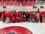 Wrestling: 2021 District Champions! Lancers takedown St. Joe 49-21