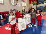 Wrestling: Hanau, Lucio win Regional titles; Lancers #2 seed in team tournament