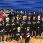 Middle School Wrestlers With Another Great Finish
