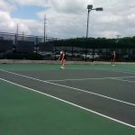 Ladies Tennis Sweet 16 Face Calhoun Today