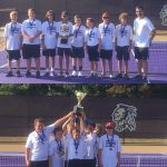 Lumpkin County Middle Tennis Champions