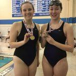 Swim Team At The Eagle Invitational