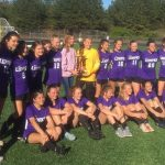 Lumpkin Middle School Ladies Soccer Team League Champions