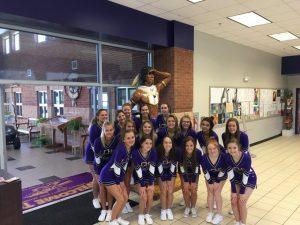 Cheerleaders 2019-2020 School Year