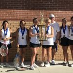 Middle School Girls Tennis Region Champions