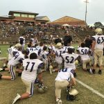 Lumpkin Middle Football Sweeps White County