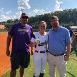 Lumpkin County Softball Lady Indians Farm Bureau Player of the Week Natalie Shubert