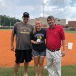 Lumpkin County Softball Lady Indians Farm Bureau Player of Week 7 Brighton Harder