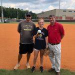 Lumpkin County Softball Lady Indians Farm Bureau Player of Week 8 Evee Dornhecker